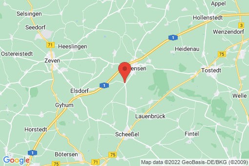 Karte Hamersen