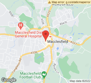 Map of The Wild Bunch (Macc) Limited at 92 Mill Street, Macclesfield, Cheshire SK11 6NR