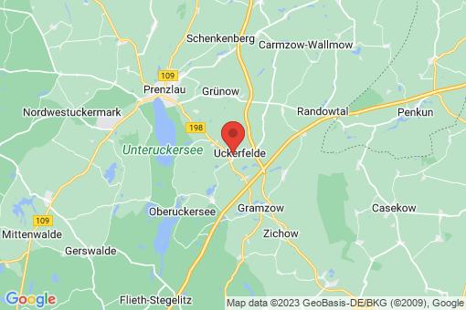 Karte Uckerfelde