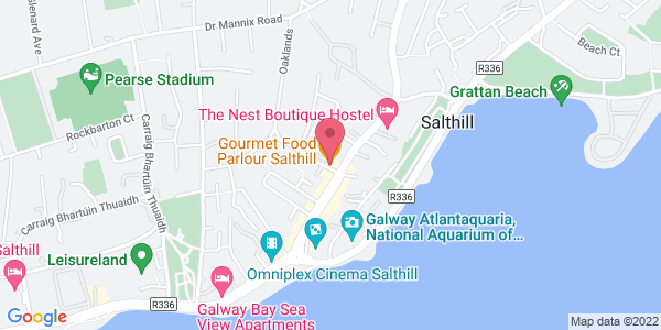 Get directions to Gourmet Food Parlour - Salthill