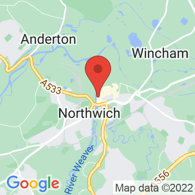 Map showing BEAR - Northwich
