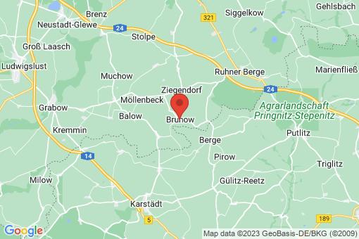 Karte Brunow