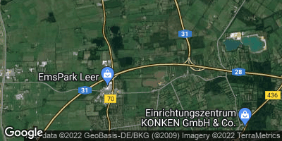 Google Map of Mooräcker
