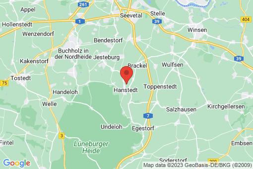 Karte Hanstedt