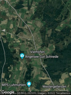 Google Map of Vierhöfen bei Winsen