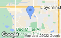 Map of Lloydminster, AB