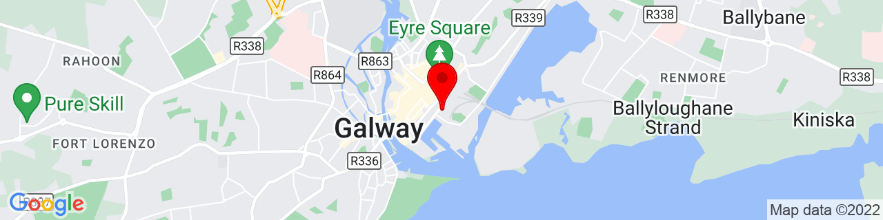 Google Map of 53.27194444444444, -9.04888888888889