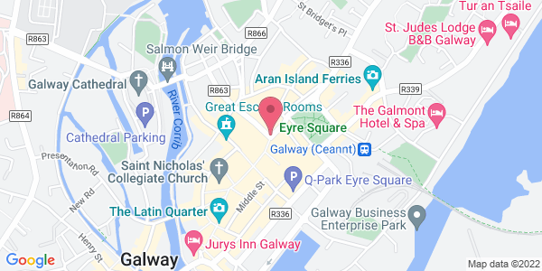 Get directions to Beef & Lobster Galway