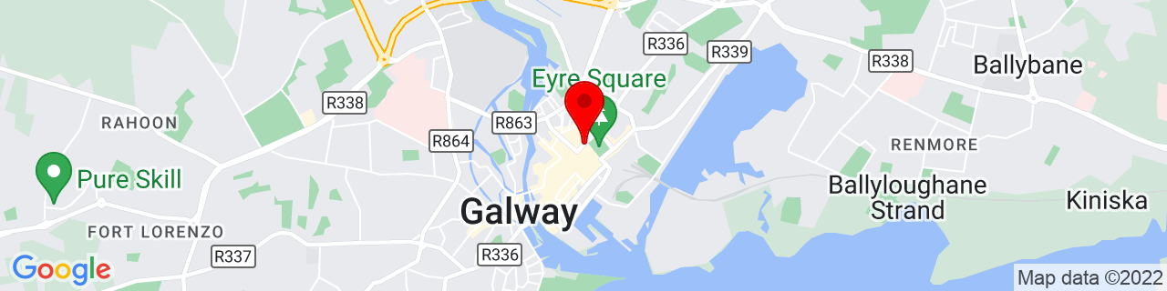 Google Map of 53.27439444444445, -9.050600000000001