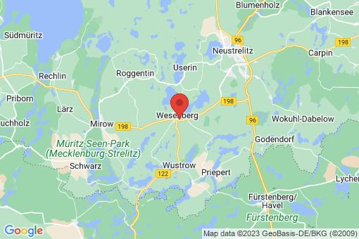 Karte Wesenberg