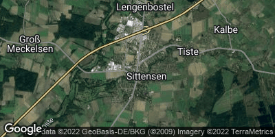 Google Map of Sittensen