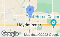 Map of Lloydminster, SK
