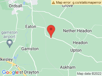 A static map of Eaton & Gamston Woods