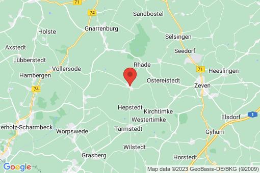 Karte Breddorf