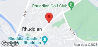 Halfords Rhyl location