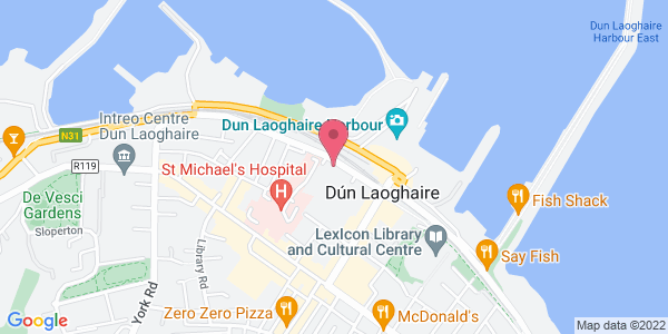 Get directions to Gourmet Food Parlour - Dun Laoghaire