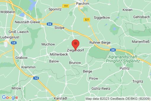 Karte Ziegendorf