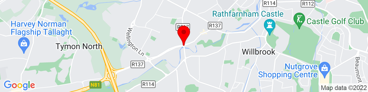 Google Map of 53.296141666666664, -6.3093055555555555