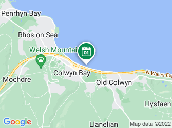 A static map of Beach Clean @ Colwyn Bay