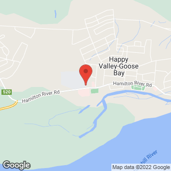 Map of Tim Hortons at 220 Hamilton River Rd, Happy Valley-goose Bay, NL A0P 1E0