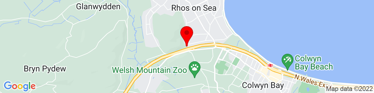 Google Map of 53.3, -3.75