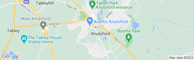 Map Of Knutsford