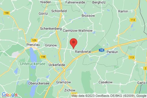 Karte Randowtal