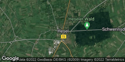 Google Map of Hesel
