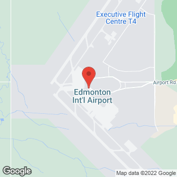 Map of Tim Hortons at Edmonton Airport (arrivals), Edmonton, AB T5J 2T2