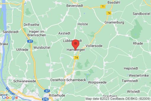 Karte Hambergen