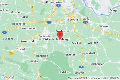 Karte Jesteburg