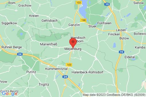 Karte Meyenburg