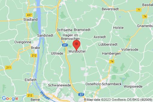 Karte Wulsbüttel