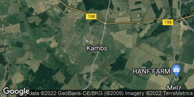 Google Map of Kambs bei Röbel