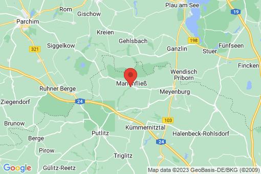 Karte Marienfließ