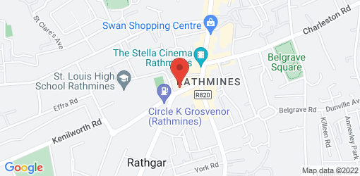 Directions to Bombay Pantry Rathmines