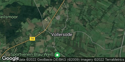 Google Map of Vollersode