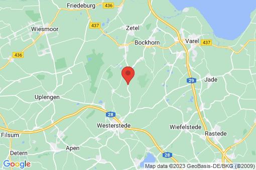 Karte Bockhorn Moorwinkelsdamm