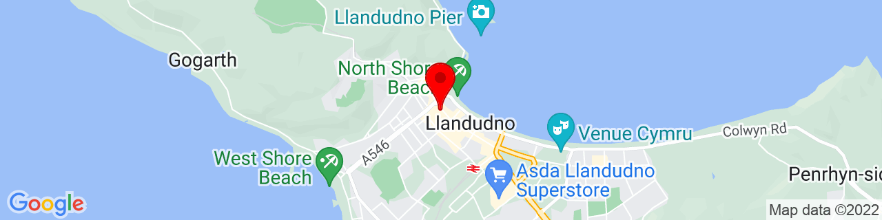 Google Map of 53.325, -3.8313888888888887