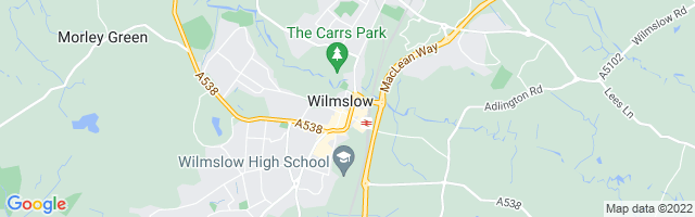 Map Of Wilmslow