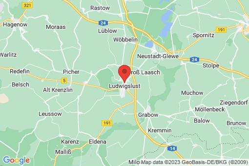 Karte Ludwigslust