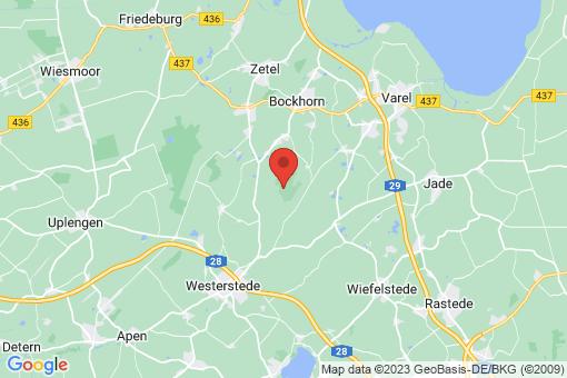 Karte Bockhorn Jührdenerfeld