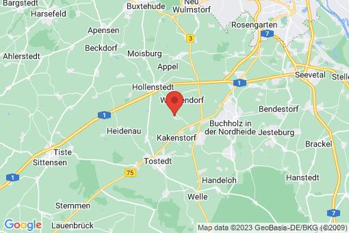 Karte Drestedt