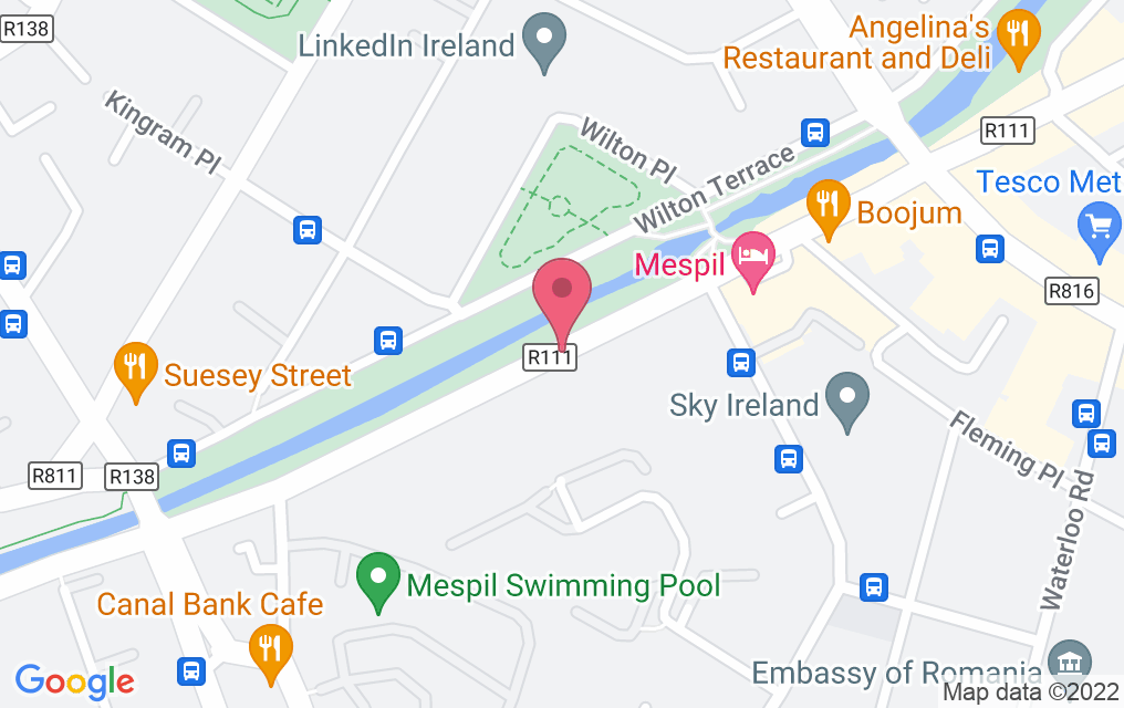 Get directions to canal boat restaurant