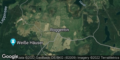 Google Map of Roggentin bei Neustrelitz
