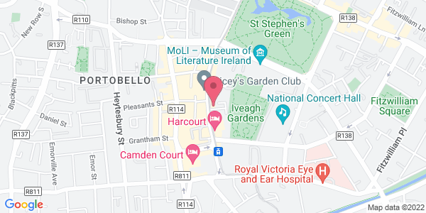 Get directions to Elle's Bar & Bistro at The Iveagh Garden Hotel