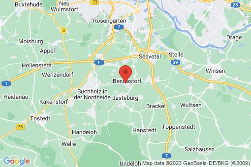 Karte Bendestorf