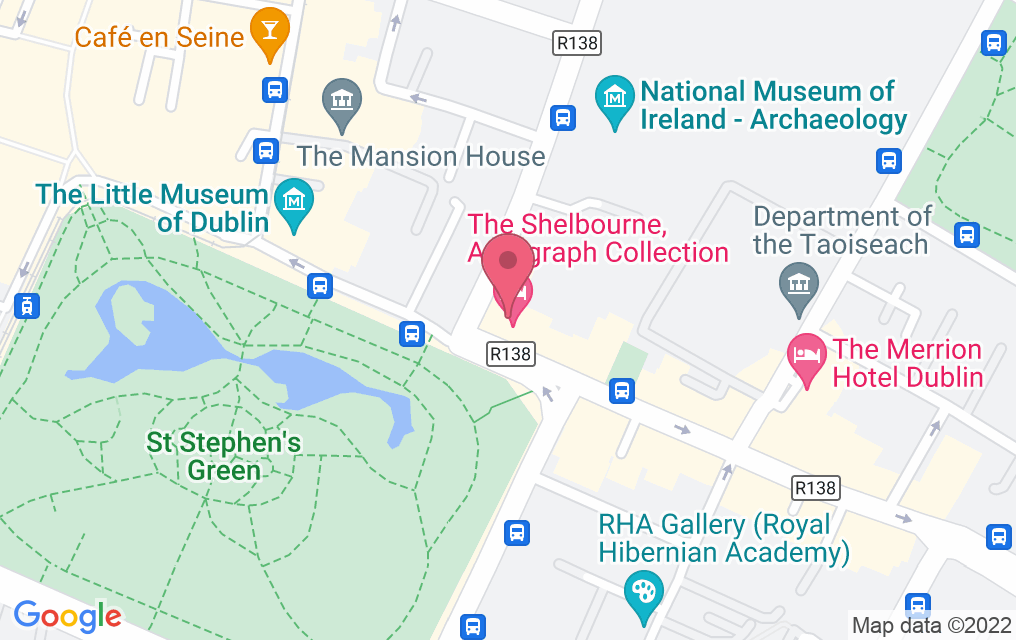 Get directions to The Lord Mayor's Lounge at The Shelbourne Hotel