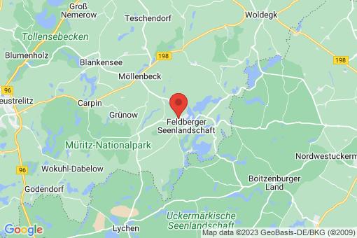 Karte Feldberger Seenlandschaft