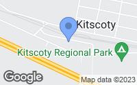 Map of Kitscoty, AB